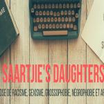 Saartjie's Daughters - Lecture en sensibilité - Cover - Dimensions site