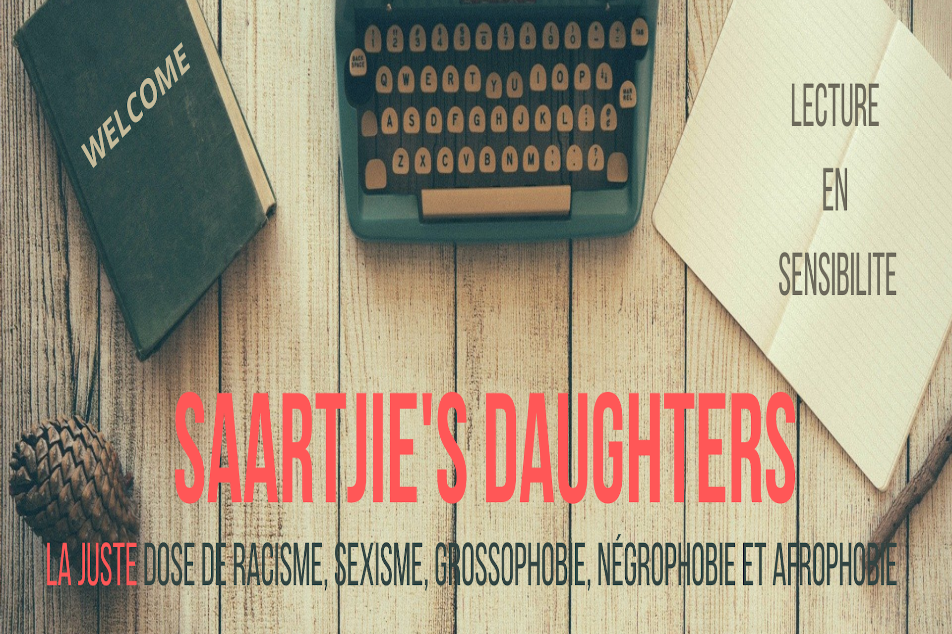 Saartjie's Daughters - Lecture en sensibilité - Cover - Dimensions site