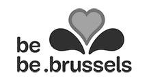 Logo - Service public régional de Bruxelles - Grayscale