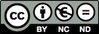 Creative Commons Button - BY NC ND