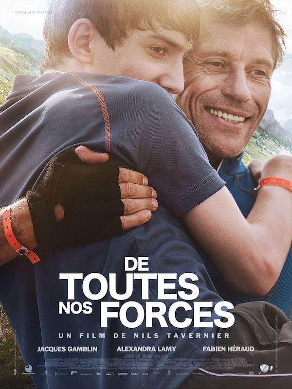 De toutes nos forces - Affiche - Film